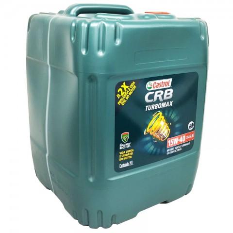 CRB Turbomax CI-4 15W40 BD20L Castrol