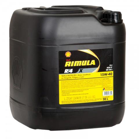 Rimula RT4 X 15W40 CI-4 SHELL